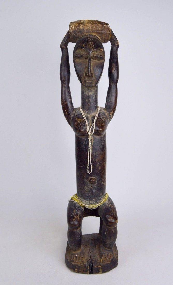 Lovely lady ~ Attie Female Shrine Figure, African Art - 2