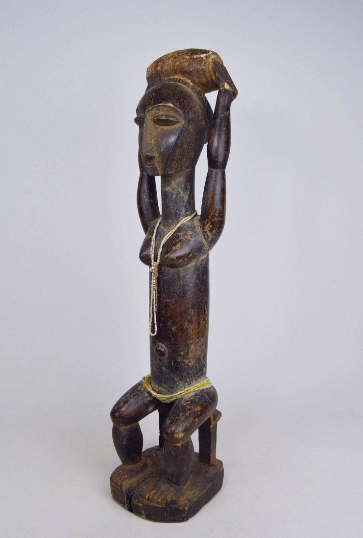 Lovely lady ~ Attie Female Shrine Figure, African Art - 3