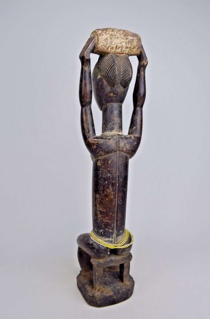 Lovely lady ~ Attie Female Shrine Figure, African Art - 5
