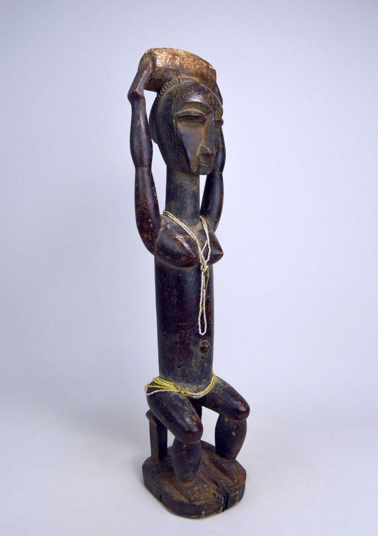 Lovely lady ~ Attie Female Shrine Figure, African Art - 7