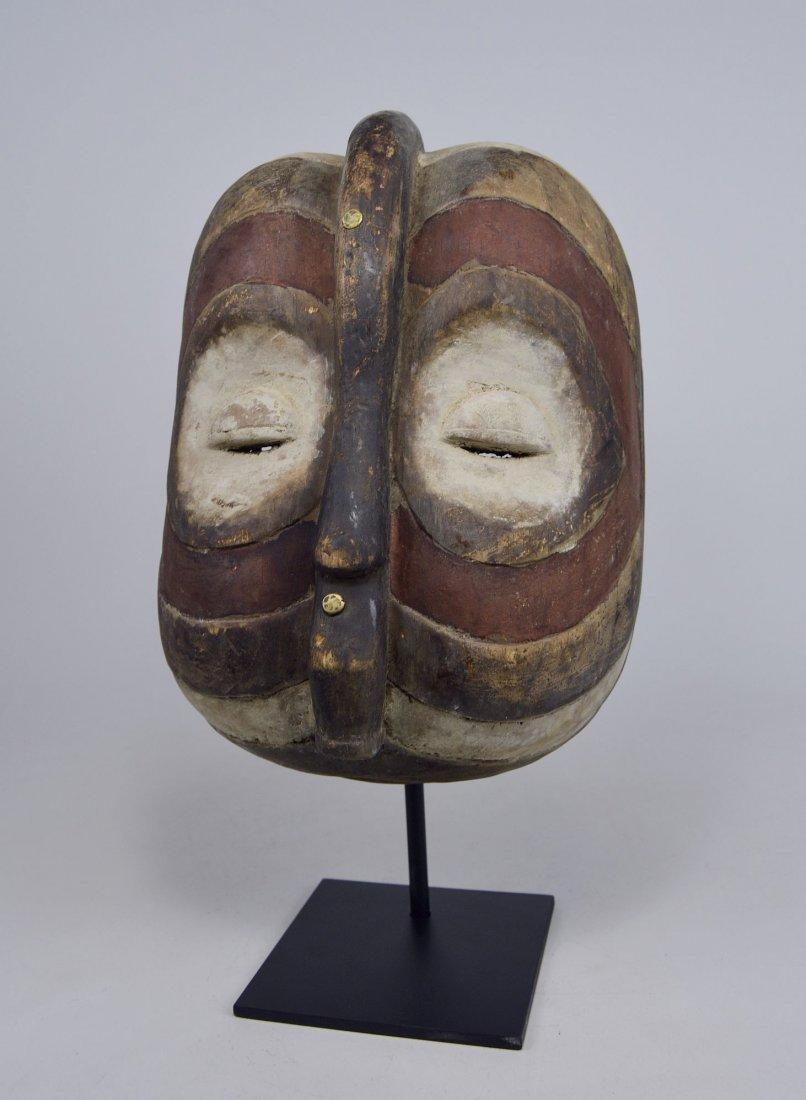 Wonderfully Abstract Luba Kifwebe Society mask, African