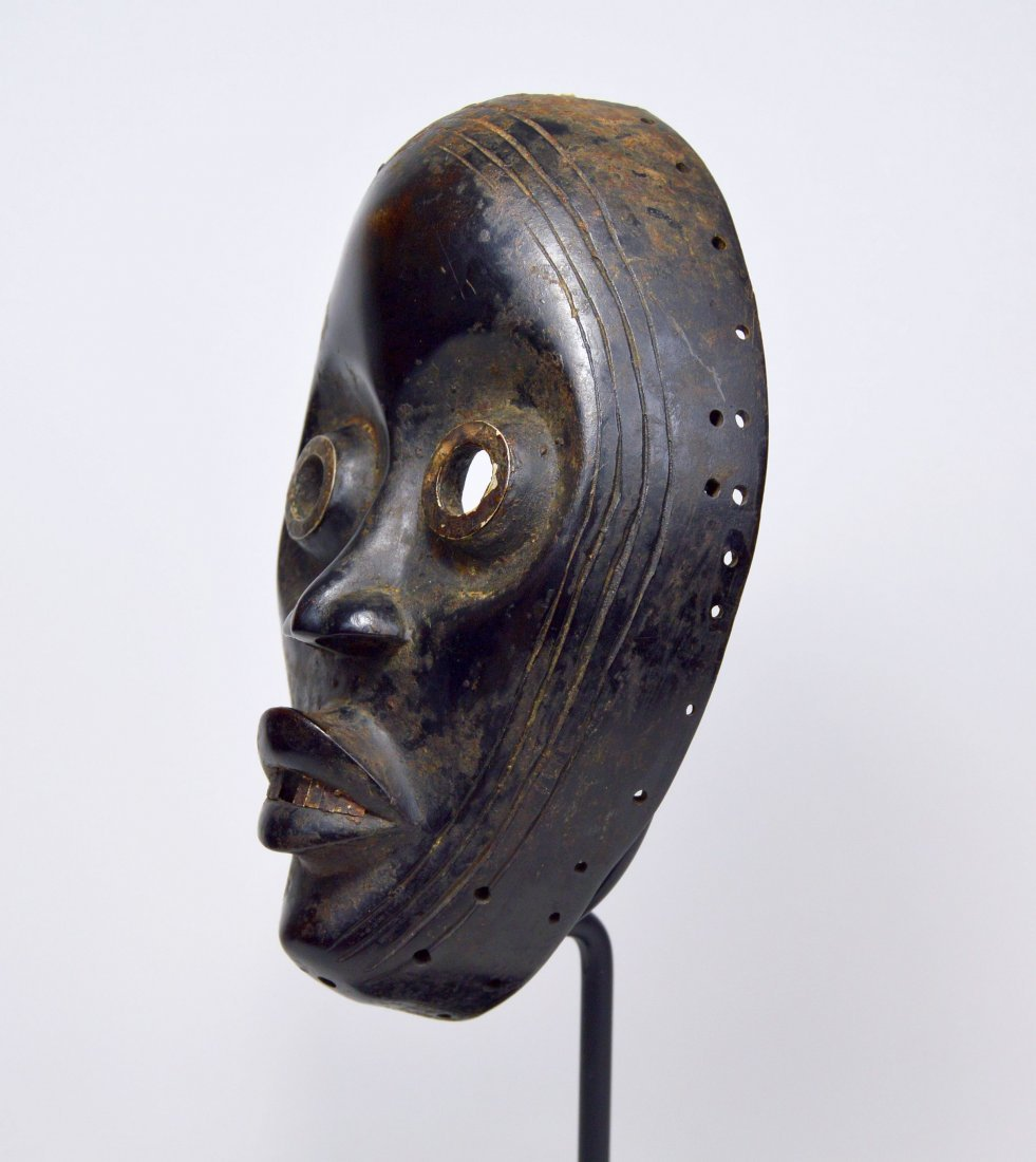 IMPORTANT DAN AFRICAN MASK Ex Museum Collection - 4