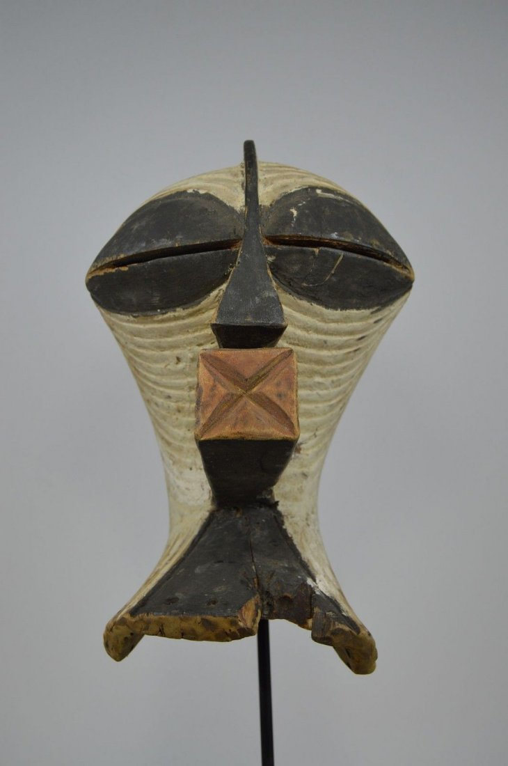 OLD SONGYE KIFWEBE AFRICAN MASK - 6
