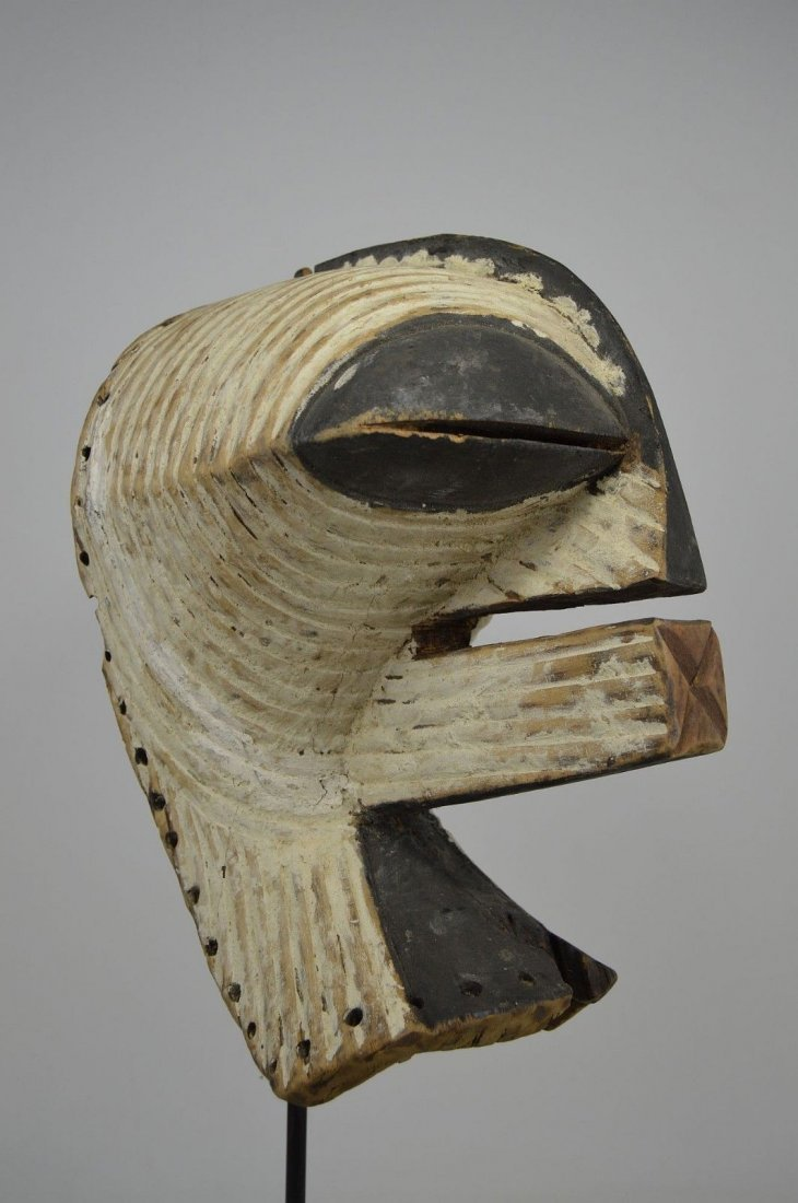 OLD SONGYE KIFWEBE AFRICAN MASK - 7