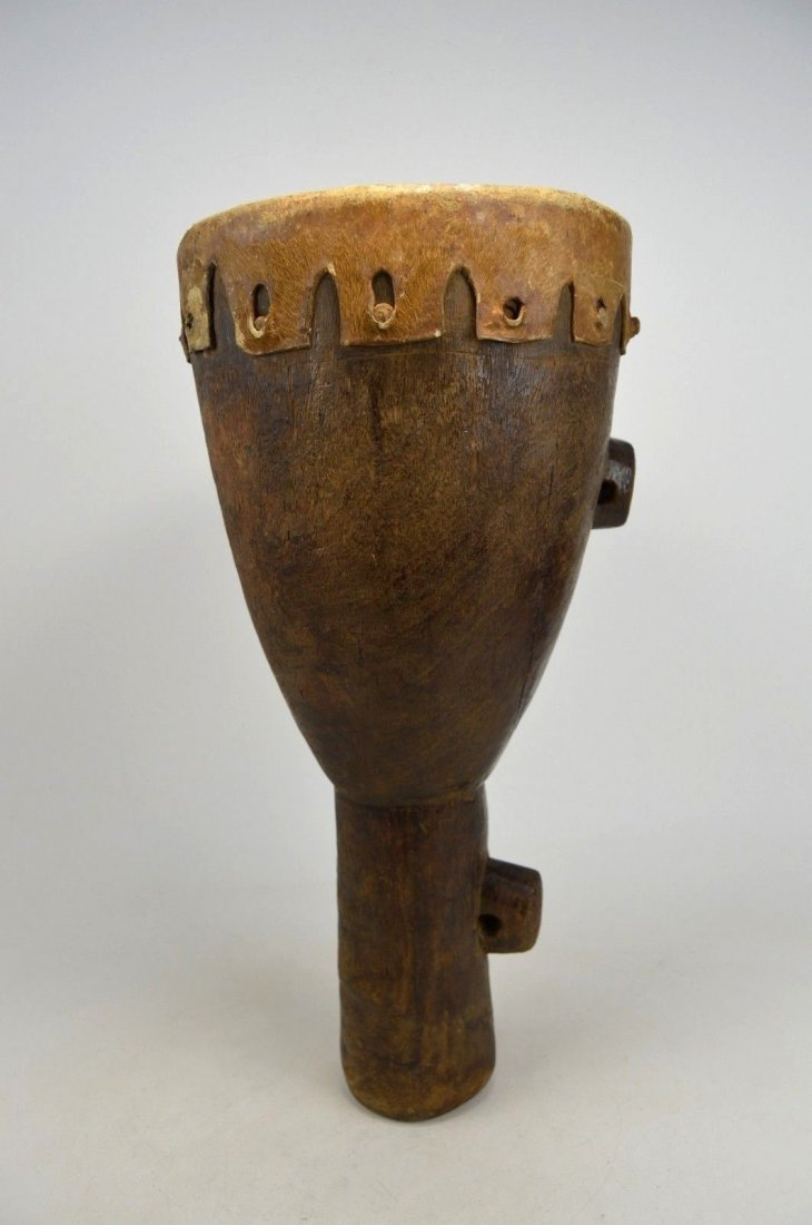 RARE OLD FIELD USED DRUM FROM THE MAKONDE