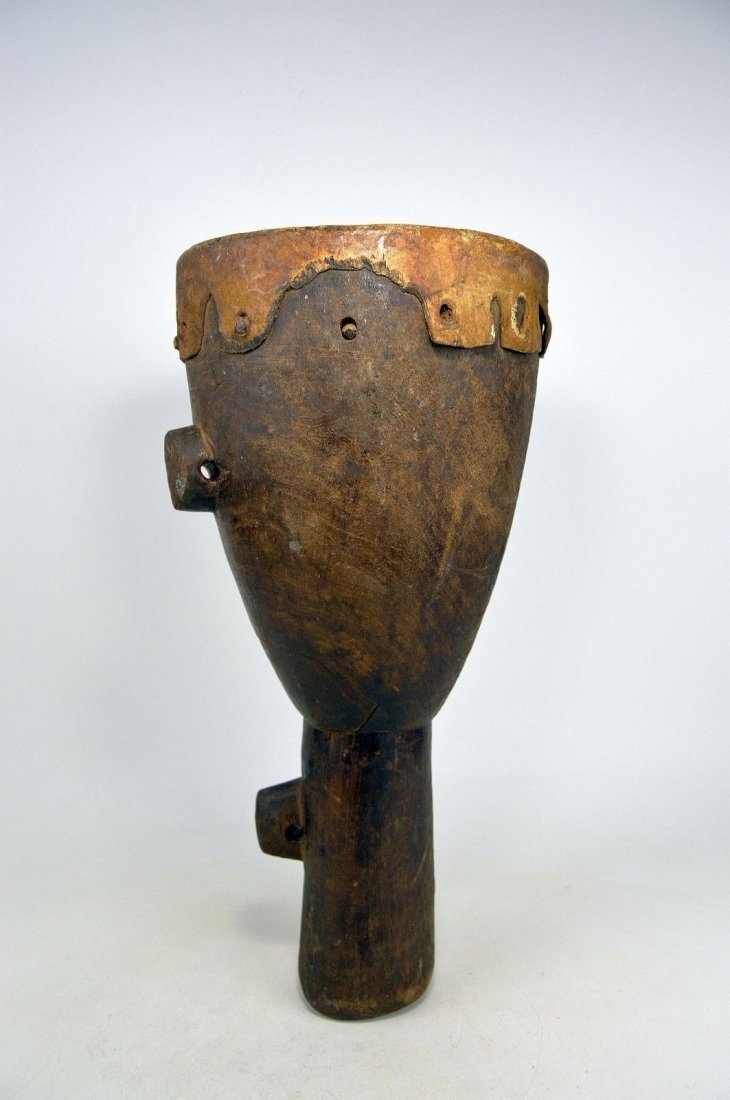 RARE OLD FIELD USED DRUM FROM THE MAKONDE - 2