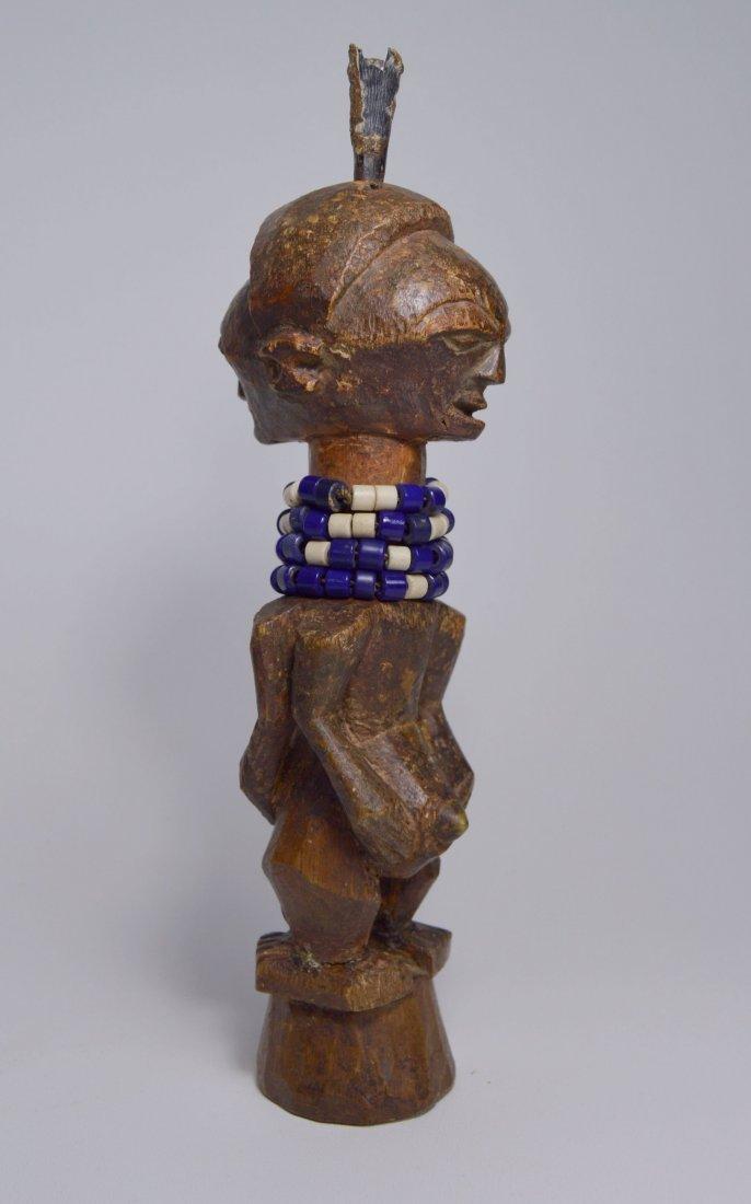 JANUS SONGYE NKISI MAGIC FETISH AFRICAN ART - 5