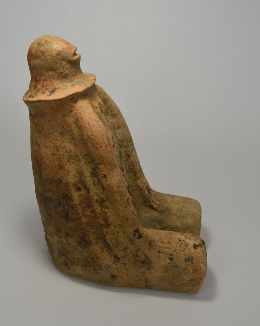 RARE ANCIENT BANKONI SEATED SCULPTURE with TL test - 7