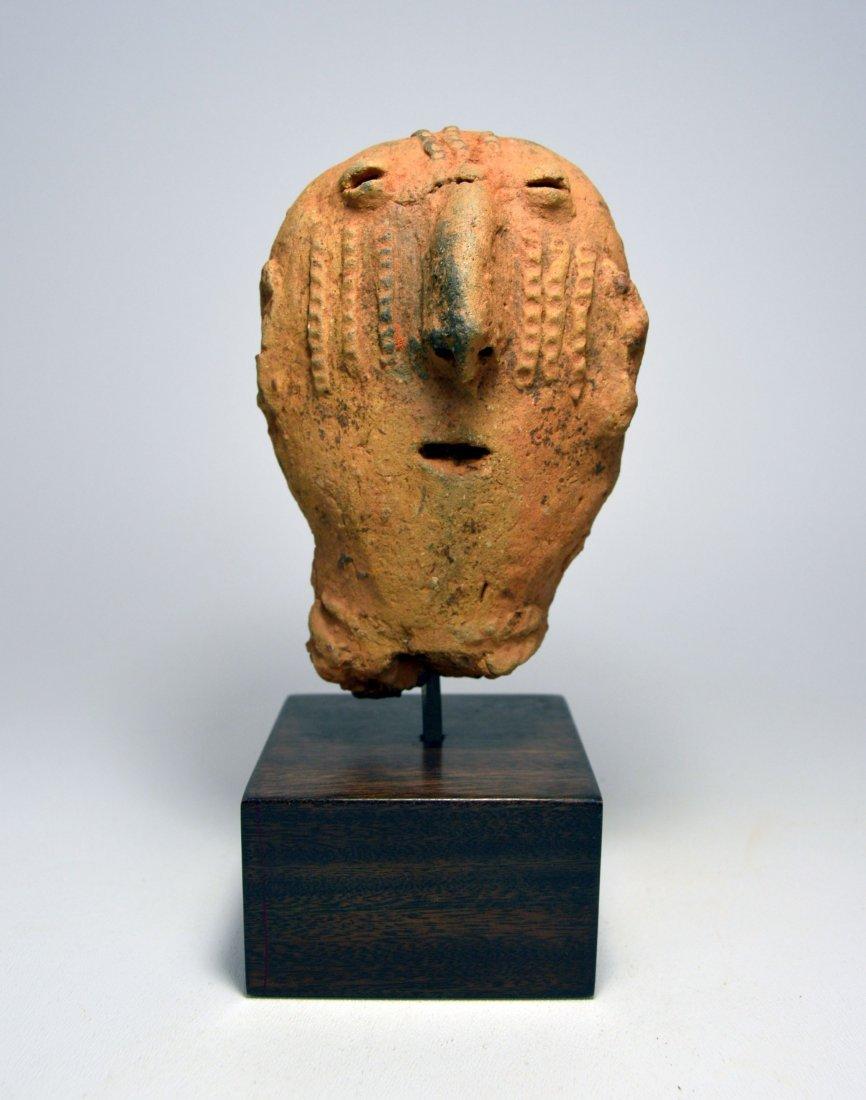 ANCIENT ARTIFACT FRAGMENT OF A BURA SCULPTURE - 2