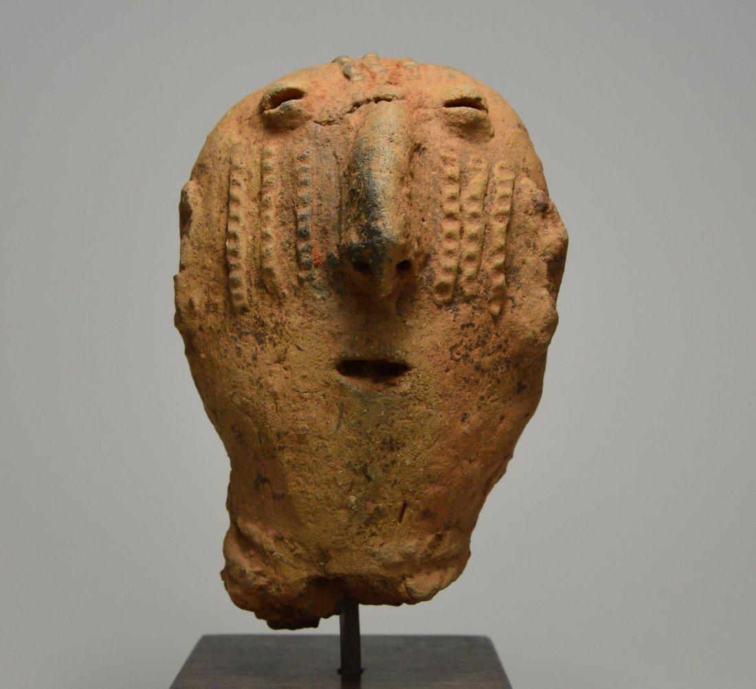 ANCIENT ARTIFACT FRAGMENT OF A BURA SCULPTURE - 3