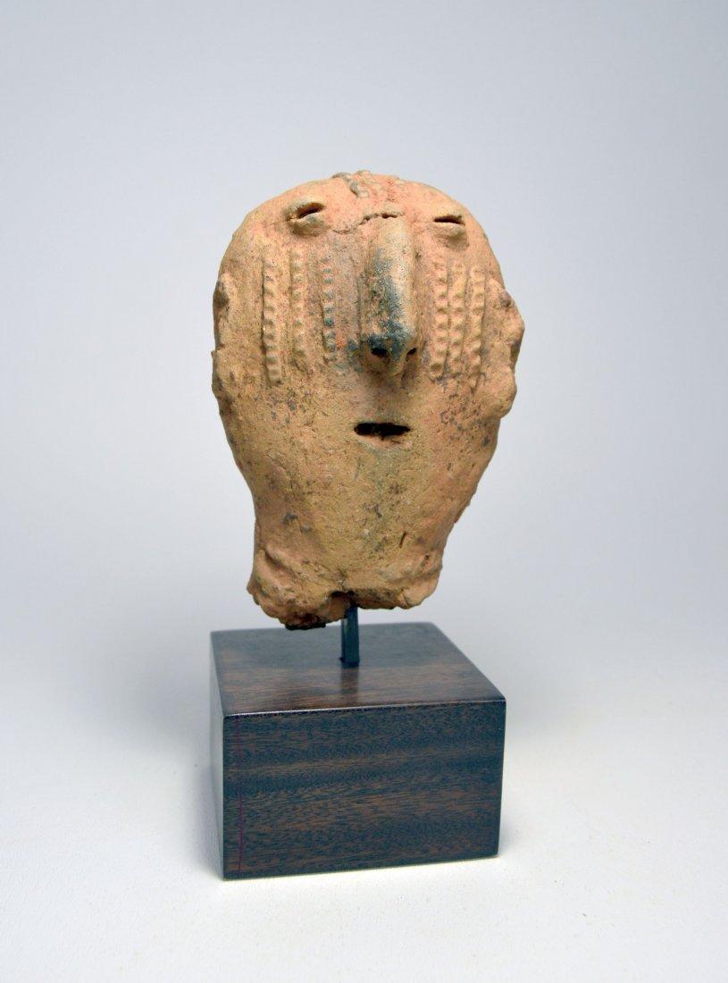 ANCIENT ARTIFACT FRAGMENT OF A BURA SCULPTURE - 4