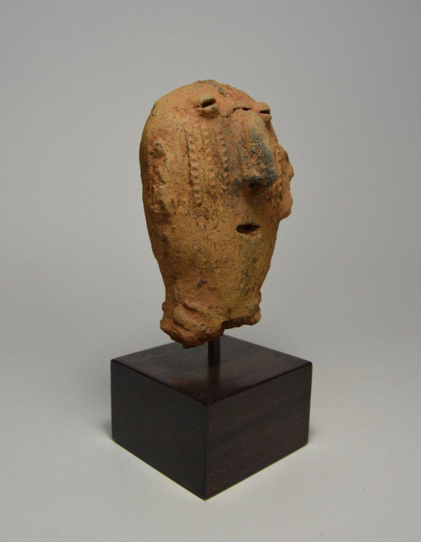 ANCIENT ARTIFACT FRAGMENT OF A BURA SCULPTURE - 5