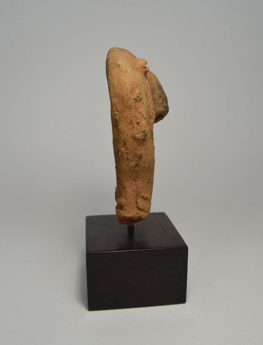 ANCIENT ARTIFACT FRAGMENT OF A BURA SCULPTURE - 6