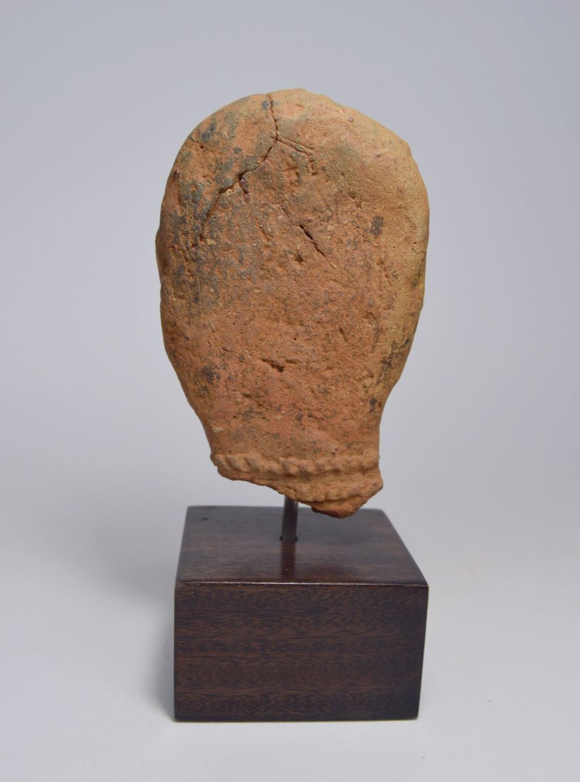 ANCIENT ARTIFACT FRAGMENT OF A BURA SCULPTURE - 7