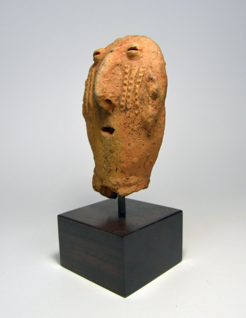 ANCIENT ARTIFACT FRAGMENT OF A BURA SCULPTURE - 8