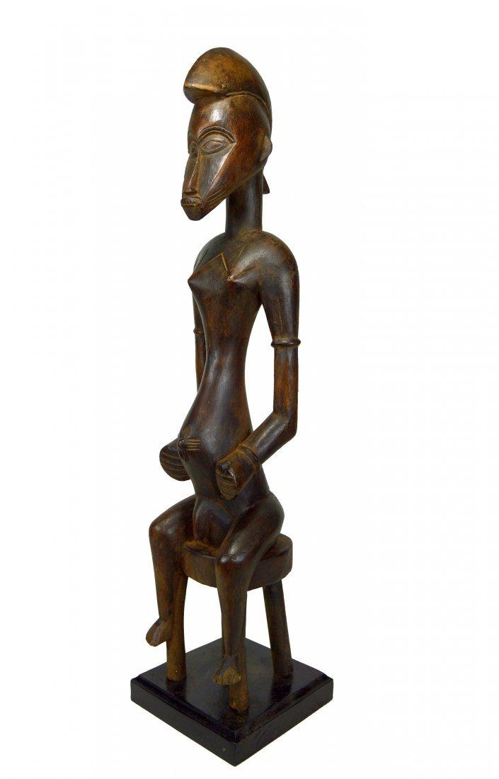 Tall Handsome Senufo Male Sculpture, African Art