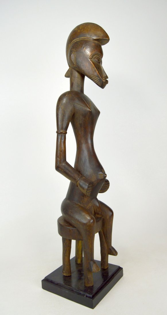 Tall Handsome Senufo Male Sculpture, African Art - 3