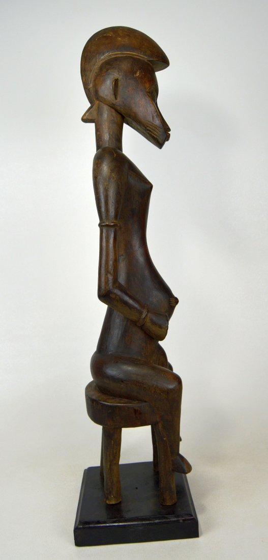 Tall Handsome Senufo Male Sculpture, African Art - 4