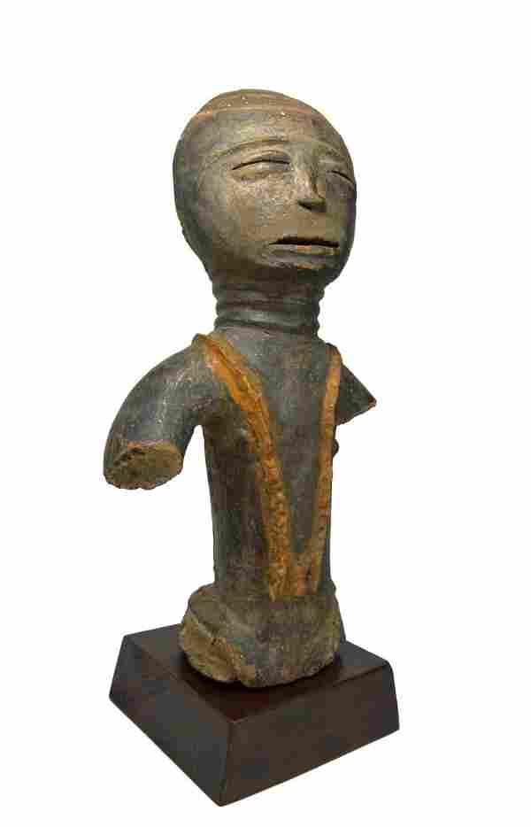 Akan / Ashanti Terracotta Memorial African sculpture