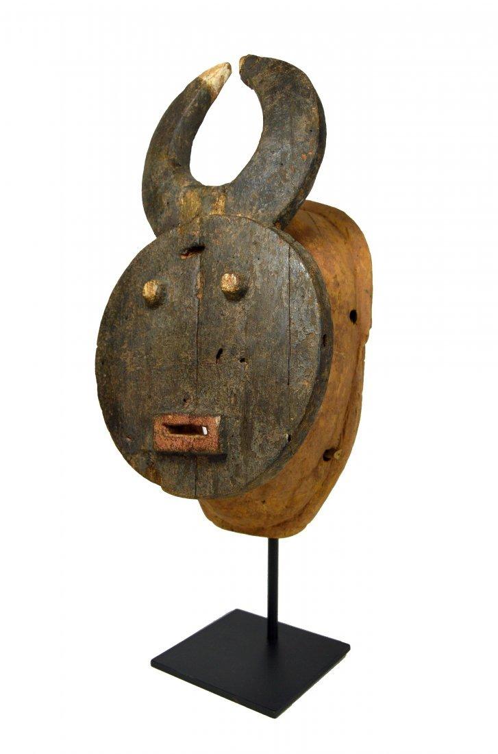 A Black Baule Goli Festival Mask, African Art