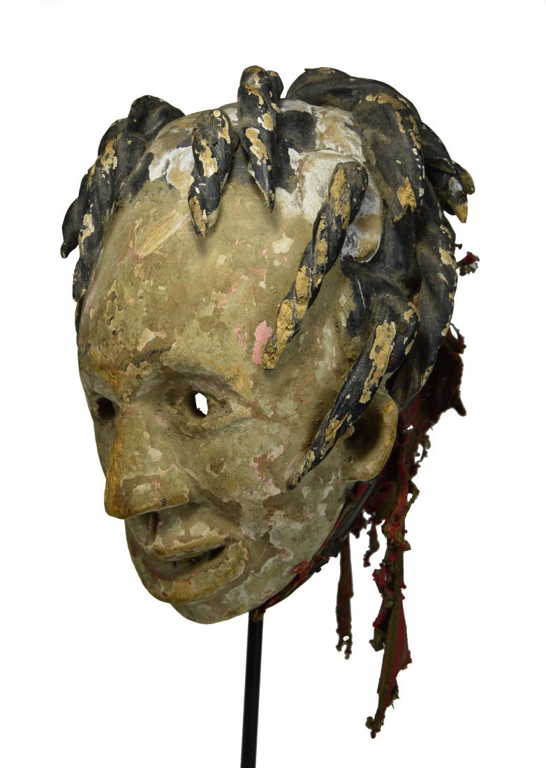 A Very Old Igbo African mask, African Art