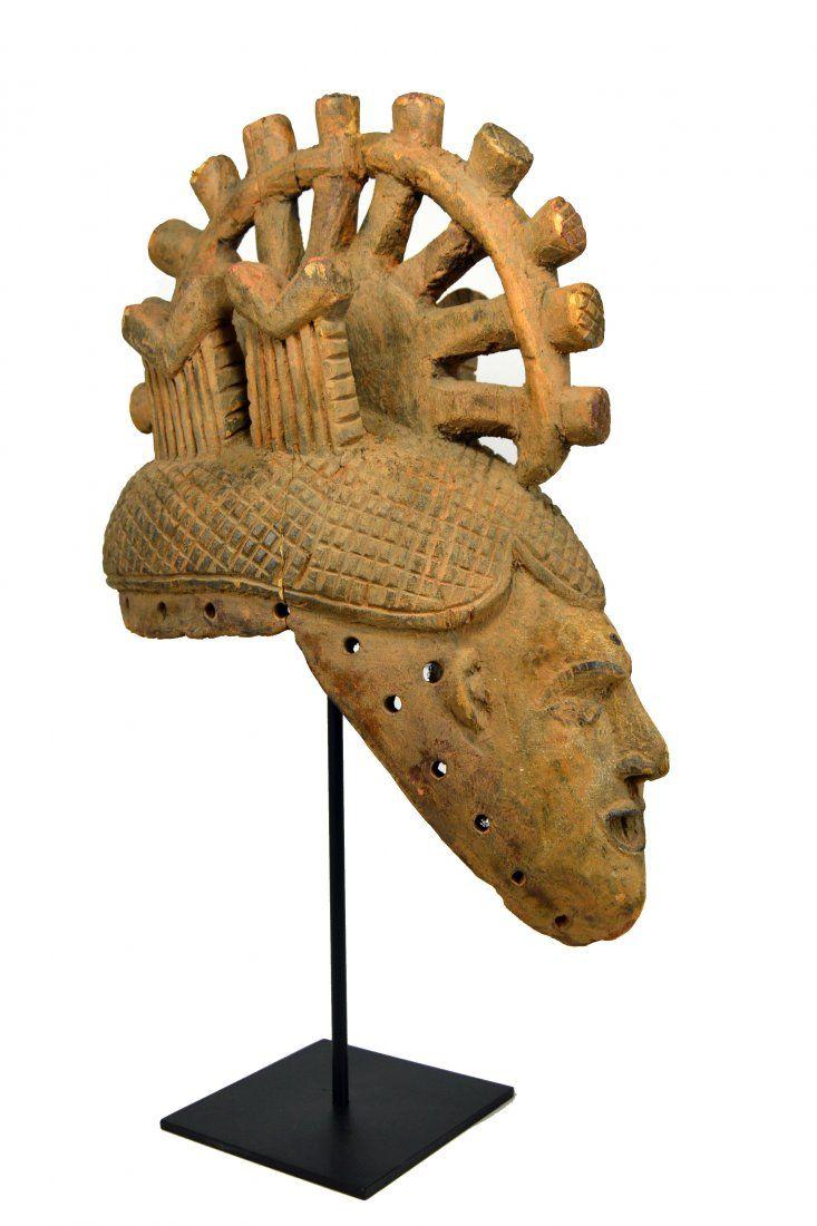Ibo Madien Spirit mask, African Art