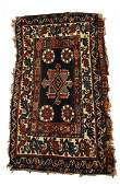 19th Century Persian Jaffe Bag Face / Rug