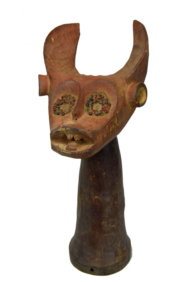 Unique Old Mama Dance Crest, African Art