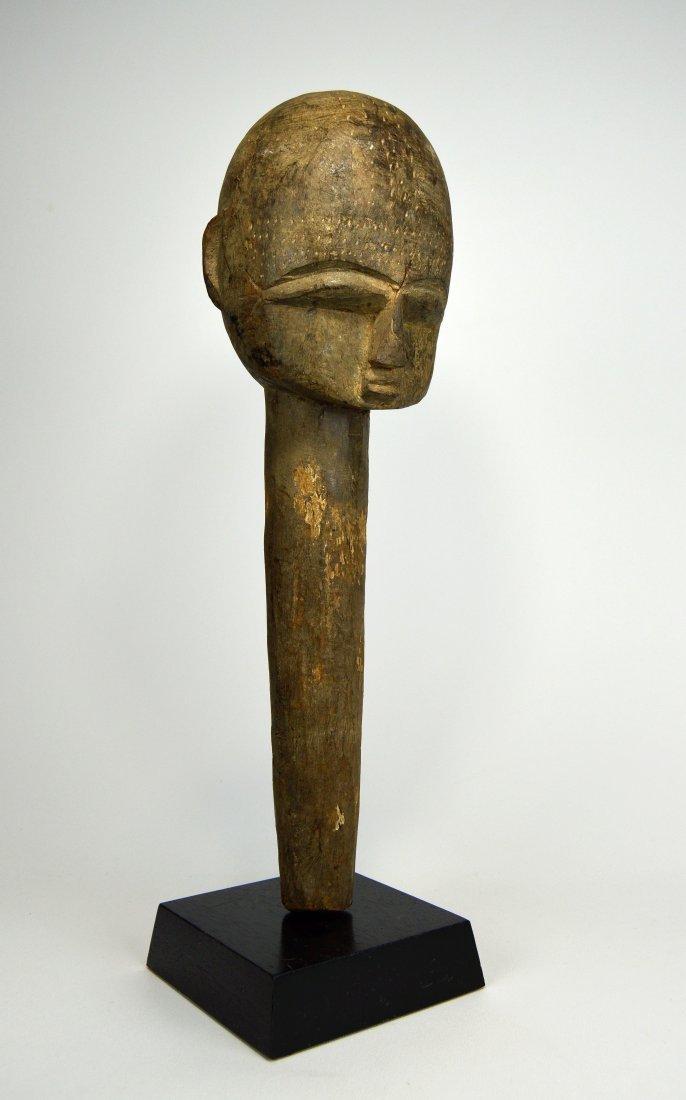 A Large Lobi Shrine head, African Art.