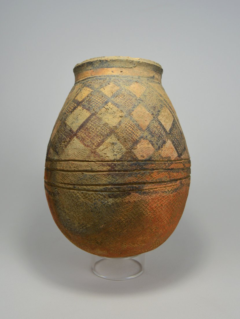 Rare Ancient Indus Valley decorated vessel 2700 BC