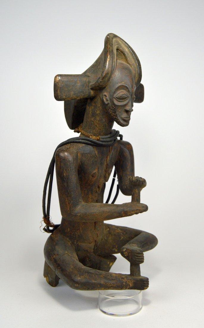 A Rare Old Chokwe Chibinda Ilunga Ancestor, Ex Hallet