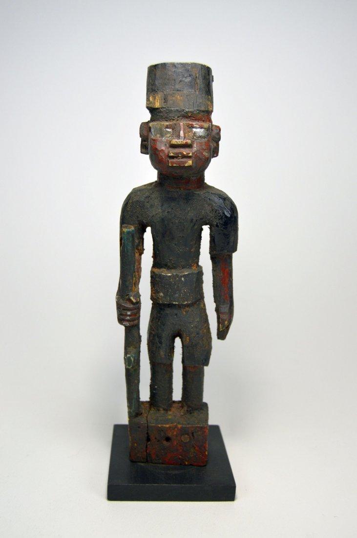 A Yoruba Colonial Soldier figure, African Art