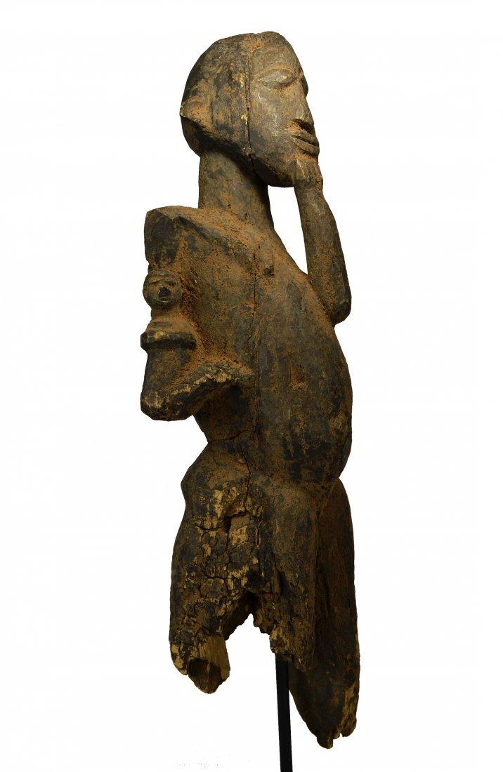 A Very Old Lobi Bateba Maternity Shrine sculpture