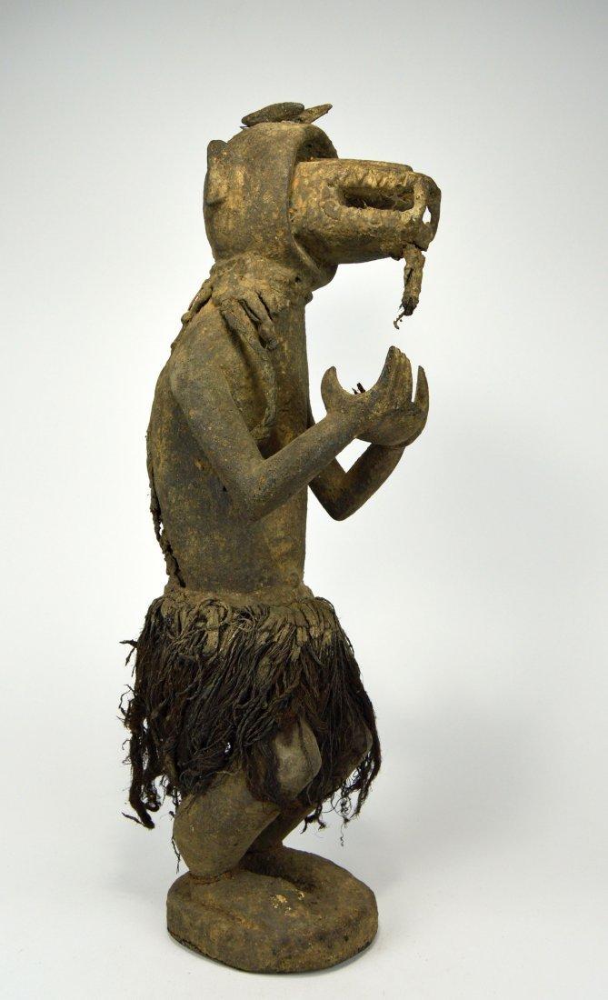 A Baule Monkey Shrine fetish sculpture, African Art