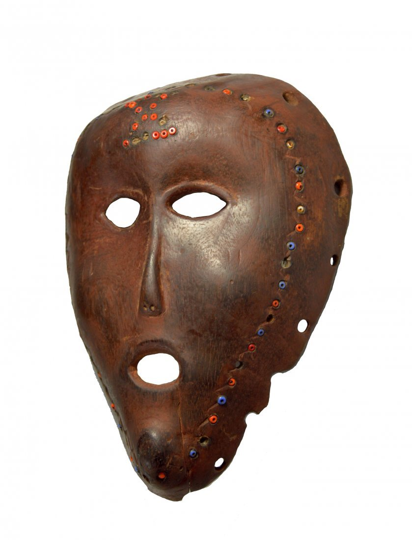 Extremely Rare Southern Lozi African Mask Ex Dr Conner