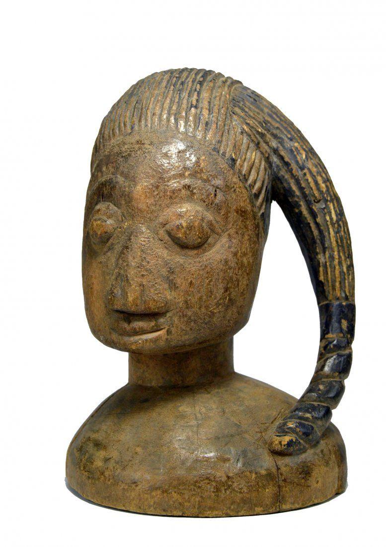 A Lovely Old Yoruba Egungun Masquerade Dance Crest