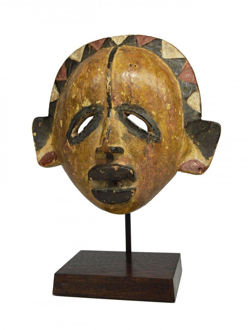 A Very Rare Eket Mask Cross River Ex Fily Keita Gallery