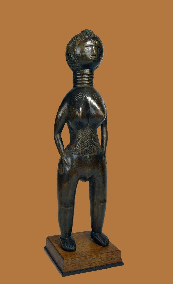 A Fine Mende Female Effigy , African Tribal Art