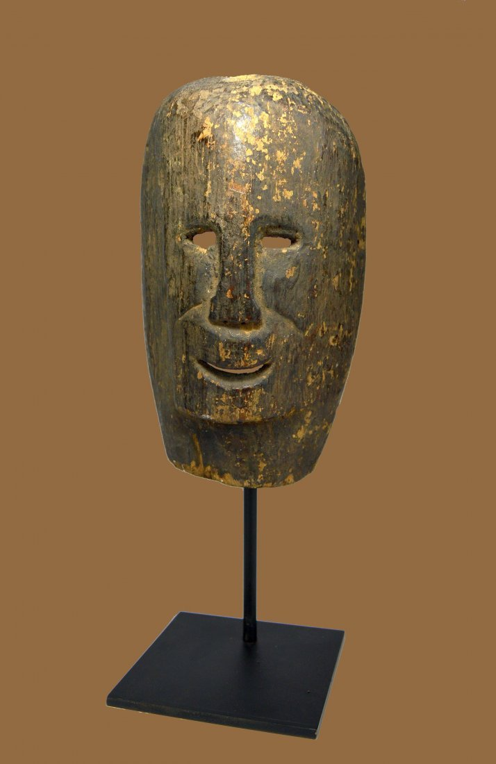 A Rare Archaic Timor Mask, Indonesian Tribal Arts