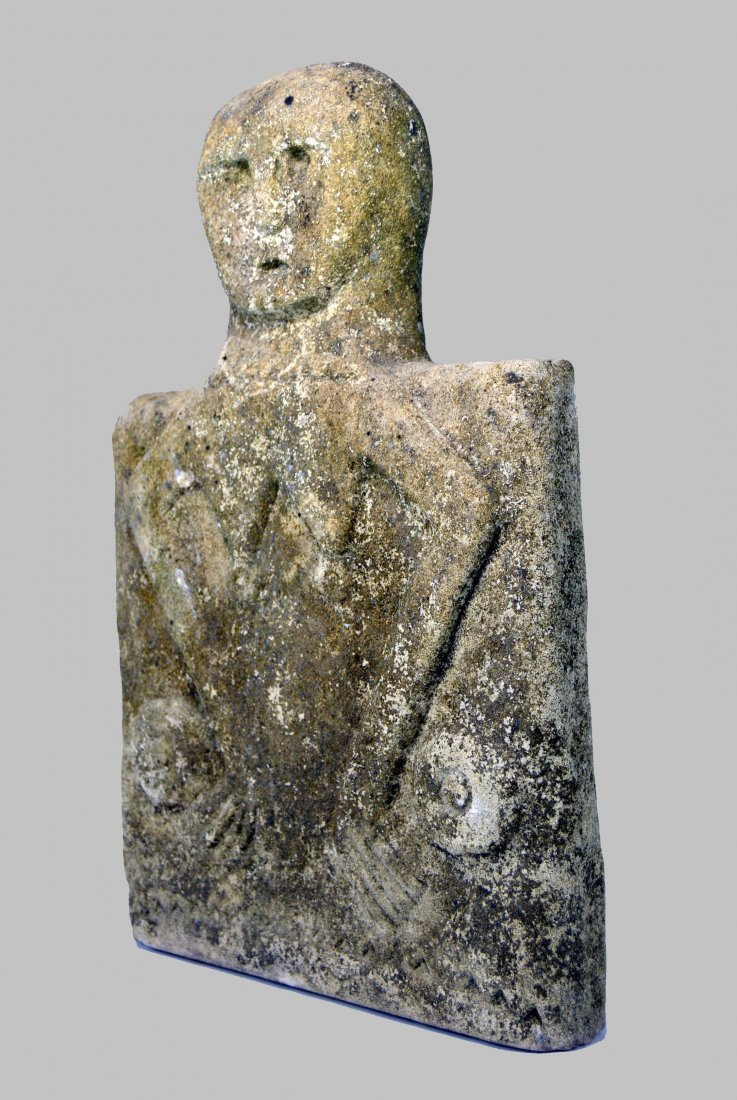 Sumba Island Stone marker with Ancestor figure