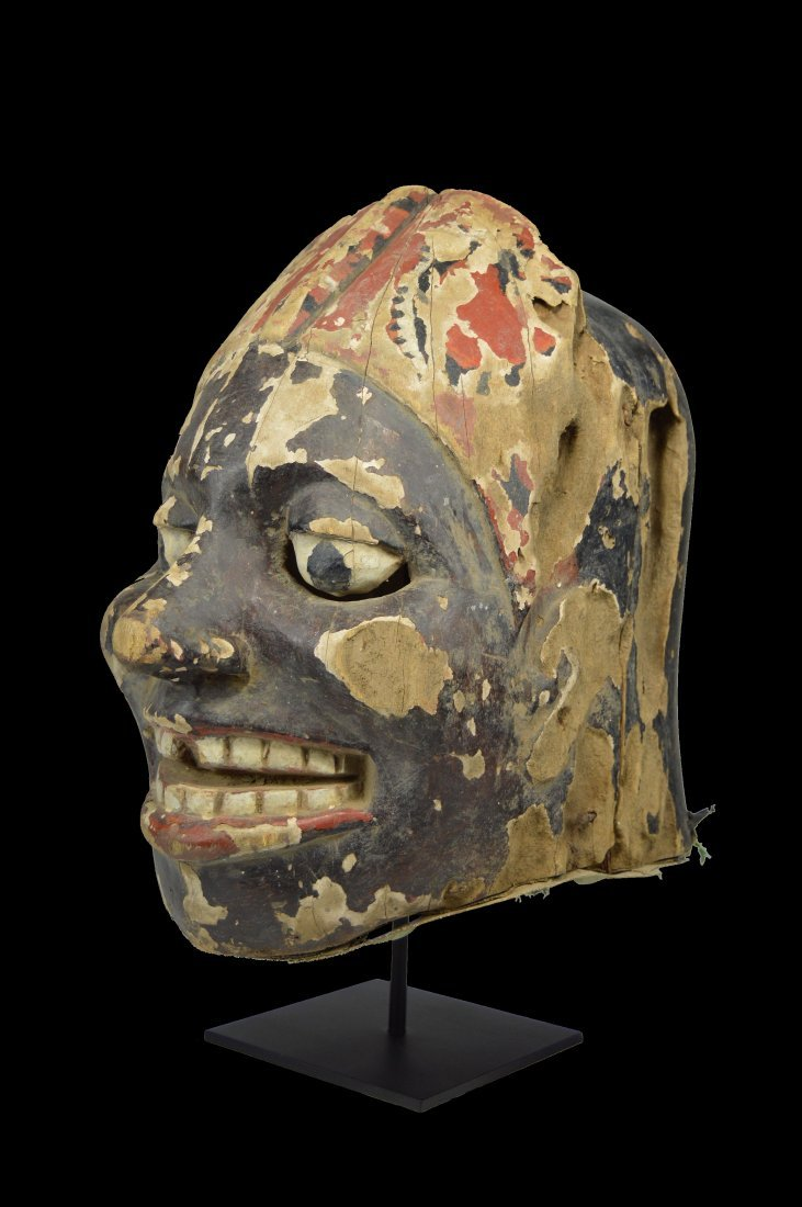 Rare Tiv Kwag-Hir festival mask, African Tribal Art