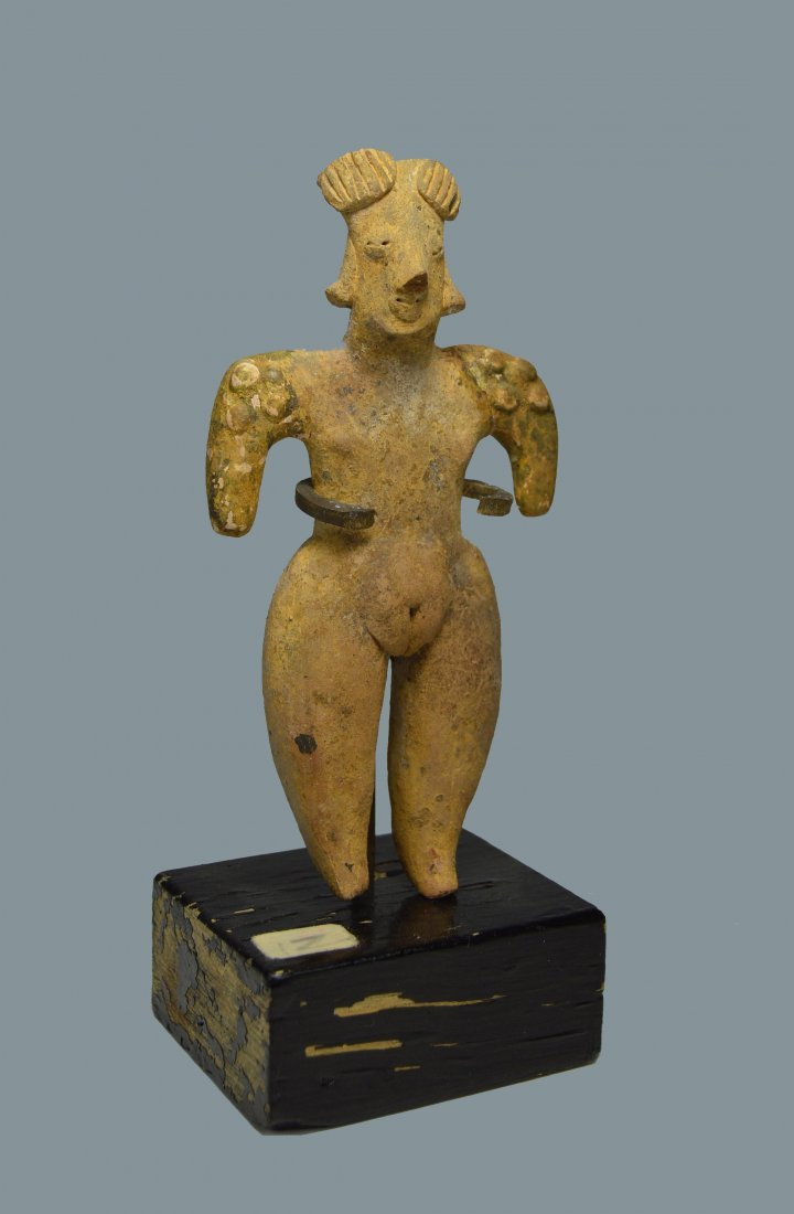 Ancient Colima Pottery Gingerbread idol 300 BC