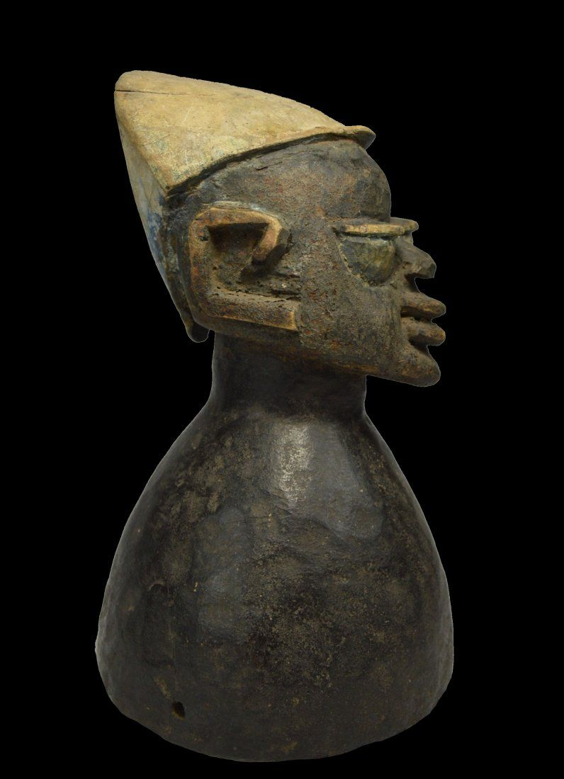 A Fine Old Yoruba Dance Crest