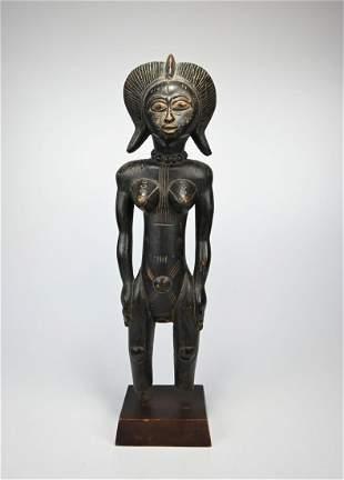 Fine Senufo Female Ancestor sculpture Ex Wyman, Chicago