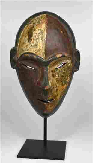 A Very Rare Jonga African Mask Ex Jean Pierre Hallet