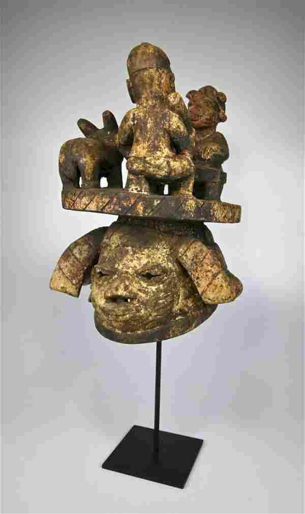 A Fantastic Yoruba Gelede Mask Ex J. Camp Gallery