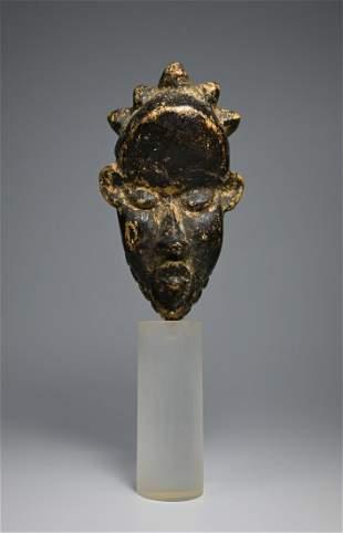 A Fine Dan Bassa Passport Mask ex Al Engelman, Maryland
