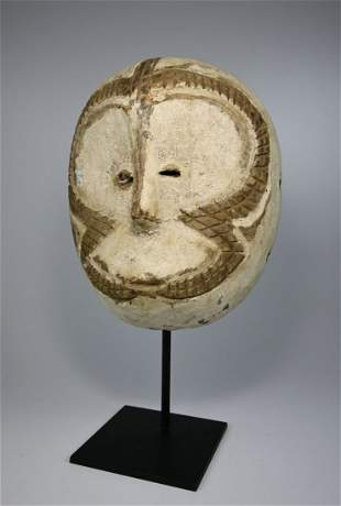 A Rare Zimba mask Ex Joseph Gerena NYC 1989