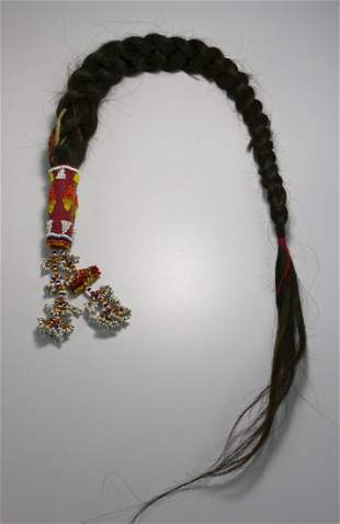 A Very Rare Gaddang Hair Braid Talisman Philippines