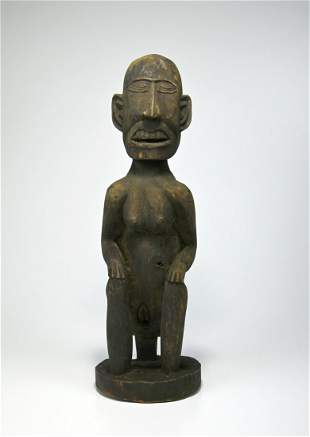 Rare Naga Female Effigy Collected 1970